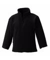 Zwarte fleece trui voor meisjes