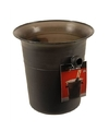 Zwarte ijsemmer 3 liter